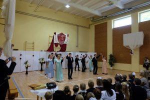 Uczniowie zaprezentowali piękny program artystyczny          Fot.vrsa.lt