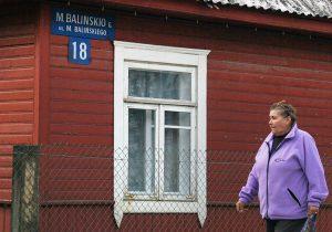 Właściciele prywatnych domów mogą umieszczać tabliczki z nazwami ulic po polsku Fot. Marian Paluszkiewicz