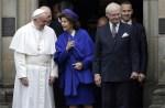 Papież Franciszek na uroczystościach otwierających Rok Jubileuszowy Reformacji