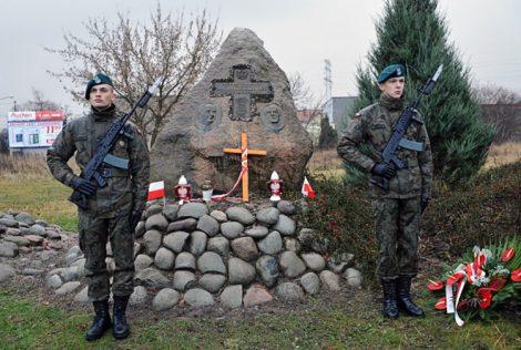 """""""Bitwa tutaj stoczona w 1831 roku pokazała, że Polacy to dumny naród, który podnosi się z każdego poniżenia"""" — podkreślał Jan Józef Kasprzyk Fot. kombatanci.gov.pl"""