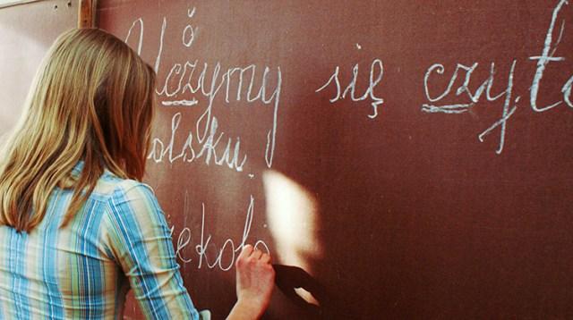 Młodzież nie ma problemu z komunikacją w języku polskim w zakresie spraw codziennych Fot. Marian Paluszkiewicz