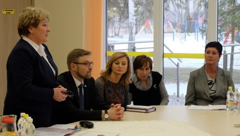 Podczas spotkania z Ministrem omówiono osobliwości tworzenia środowiska rodzinnego
