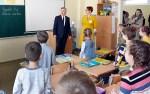 Przewodniczący Sejmu Litwy Viktoras Pranckietis w Gimnazjum Inżynierii im. J. Lelewela