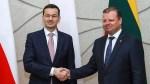 Premier Mateusz Morawiecki w Wilnie: Polska i Litwa widzą w sobie strategicznych partnerów