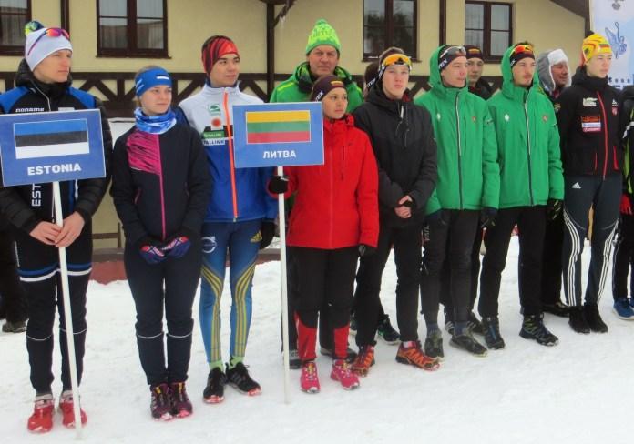 Znakomite osiągnięcia biatlonistów Rejonu Wileńskiego w zawodach biatlonu Pucharu Państw Bałtyckich