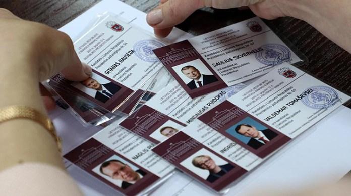 Wybory prezydenckie na Litwie: nowe sondaże kandydatów