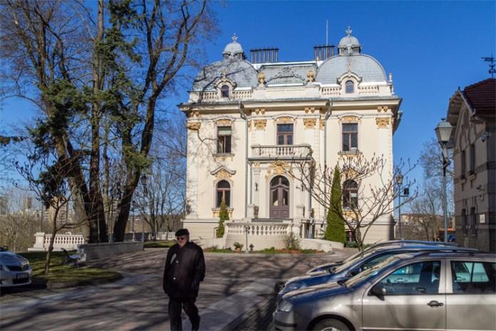 Pałac na Antokolu, siedziba Vileišisów