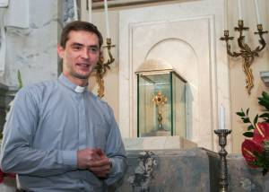 Ks. Andrzej Szuszkiewicz, rektor Wyższego Seminarium Duchownego św. Józefa w Wilnie.