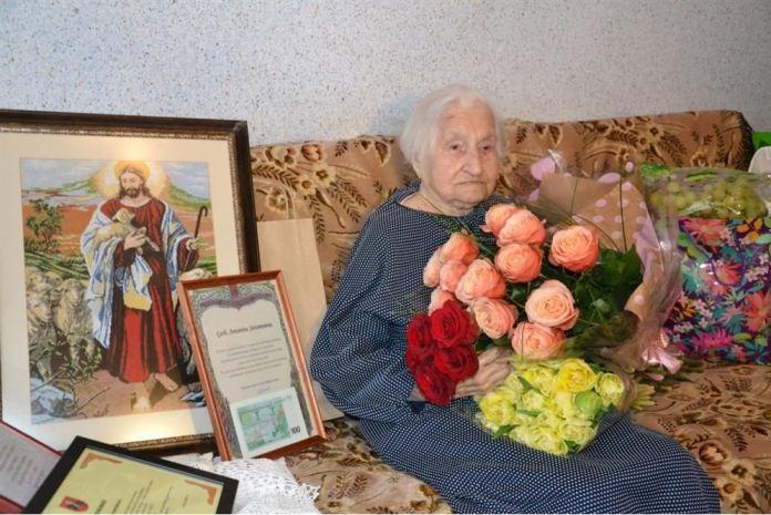 Mer złożyła życzenia stulatce z Pogir
