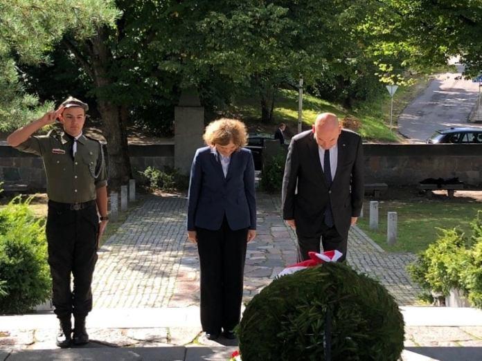 Jan Dziedziczak odwiedził Rossę i Grzegorzewo
