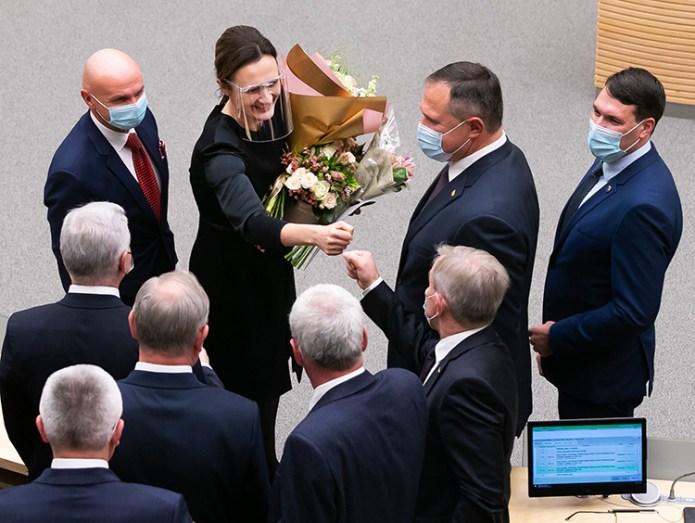 Nowy Sejm, pierwszy zgrzyt