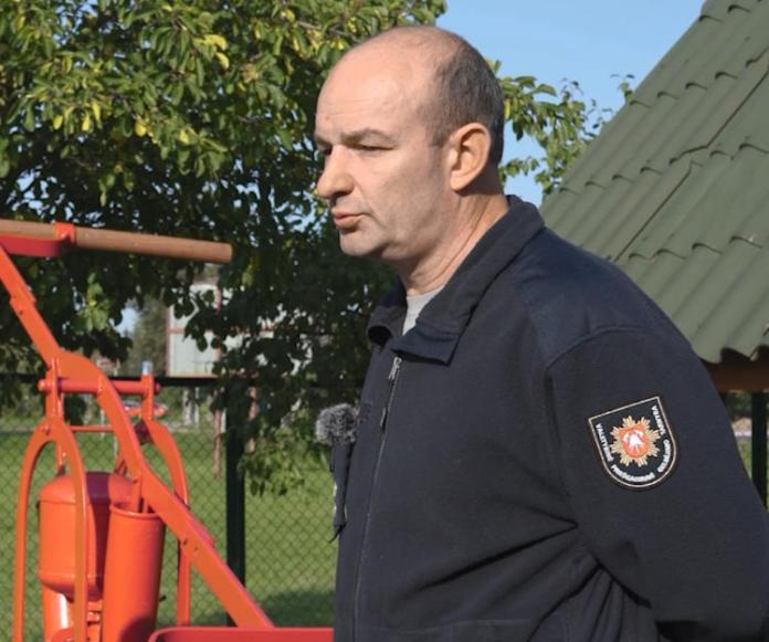"""Vitalij, strażak z Solecznik: """"dobry strażak to ten, który się boi"""""""