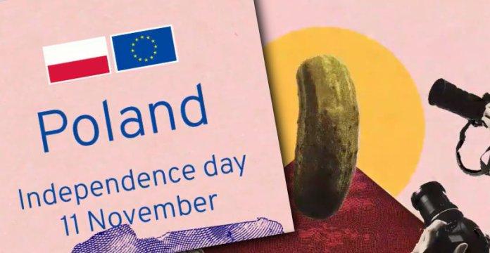 Komisja Europejska składa życzenia — a w nich ogórek, pierogi, Skłodowska i grzyby