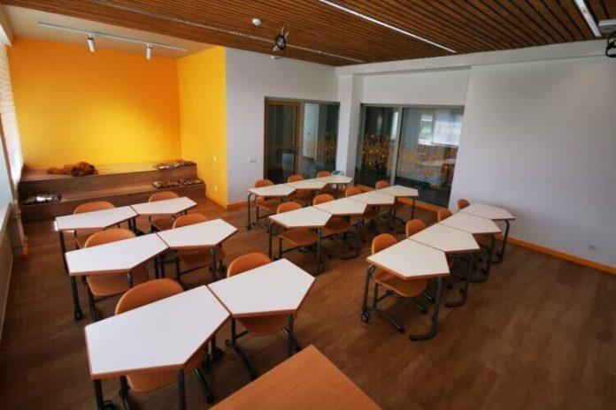 Projekt modernizacji przestrzeni edukacyjnych w Gimnazjum w Mickunach ukończony