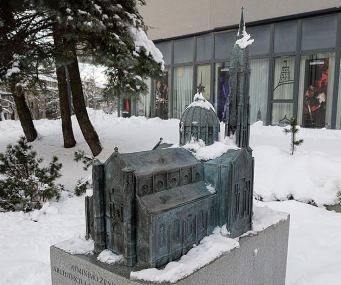 Niezrealizowane wizje architektów wileńskich –  kościół projektu Wiwulskiego