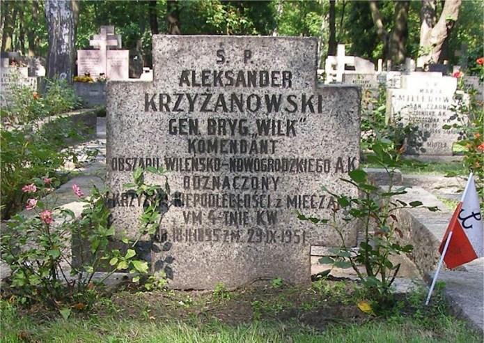 Rocznica urodzin Aleksandra Krzyżanowskiego ps. Wilk