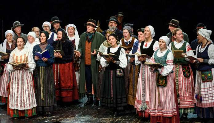 Śpiew Litwinów pruskich.