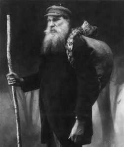 Vincas Juška, jeden z najsłynniejszych księgonoszy