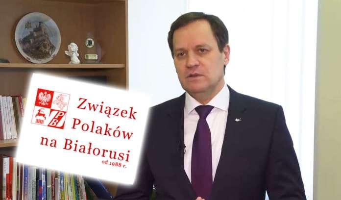 Członek delegacji UE Waldemar Tomaszewski nabrał wody w usta? Wciąż nie ma oświadczenia na temat aresztowań Polaków na Białorusi