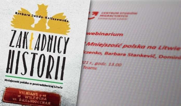 Rozpoczęło się webinarium o mniejszości polskiej na Litwie — data nieprzypadkowa