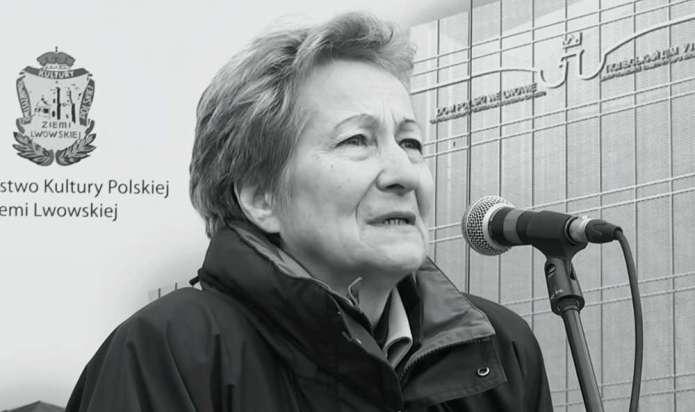 Przyjaciele żegnają Emilię Chmielową, działaczkę mniejszości polskiej na Ukrainie