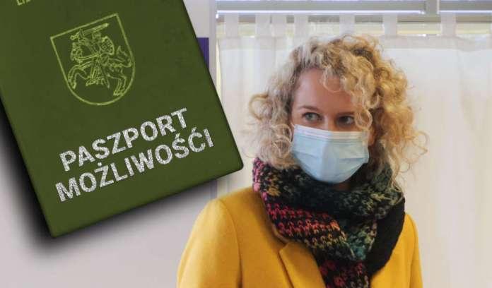 """Armonaitė proponuje """"paszport możliwości"""", aby otworzyć więcej sektorów"""