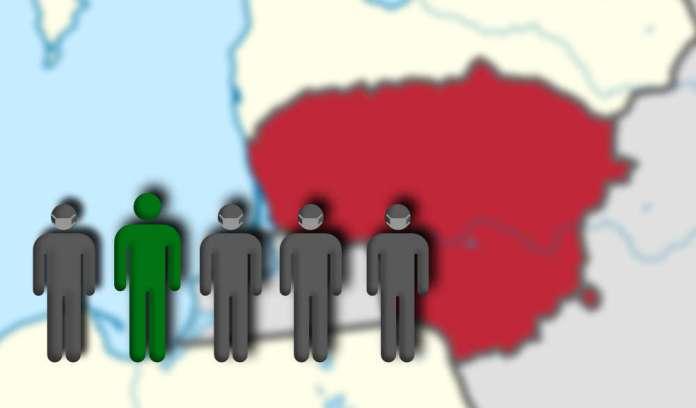 Co piąty mieszkaniec Litwy zaszczepiony co najmniej pierwszą dawką