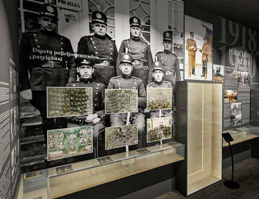 Cała historia litewskiej policji w jednym miejscu