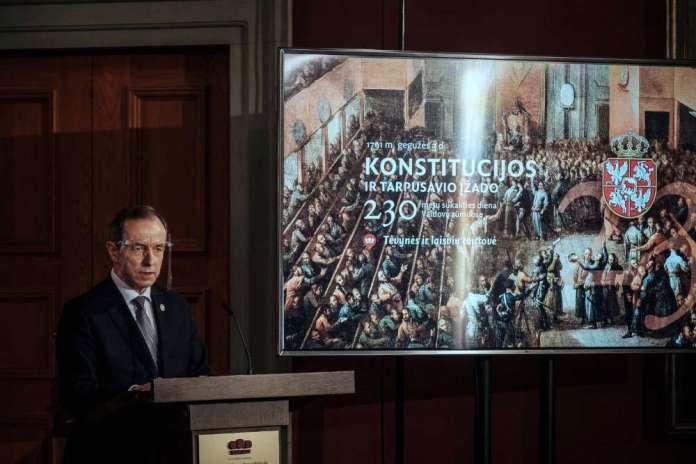 Wizyta marszałka Senatu RP na Litwie. Odbyła się dyskusja dotycząca spuścizny Konstytucji 3 maja