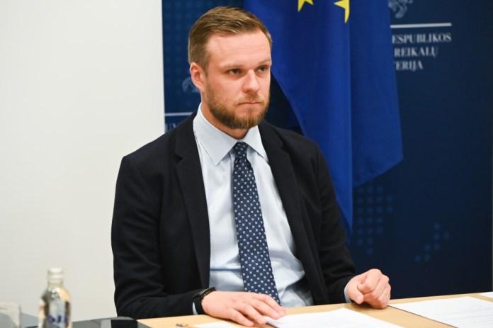 """Landsbergis o historycznej prowokacji Białorusi. """"Solidaryzujemy się z Polską"""""""