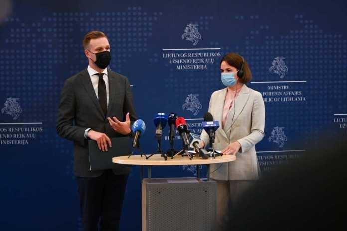Litwa akredytowała Białoruskie Przedstawicielstwo Demokratyczne. Zespół Cichanouskiej zyskał status oficjalny