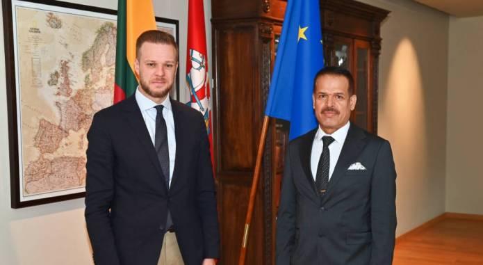 Iracka delegacja kontynuuje wizytę na Litwie