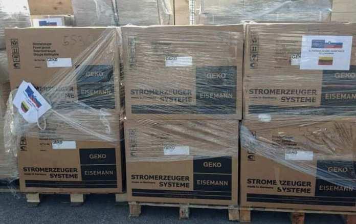 Litwa otrzymała pomoc humanitarną z Austrii, Grecji i Słowenii