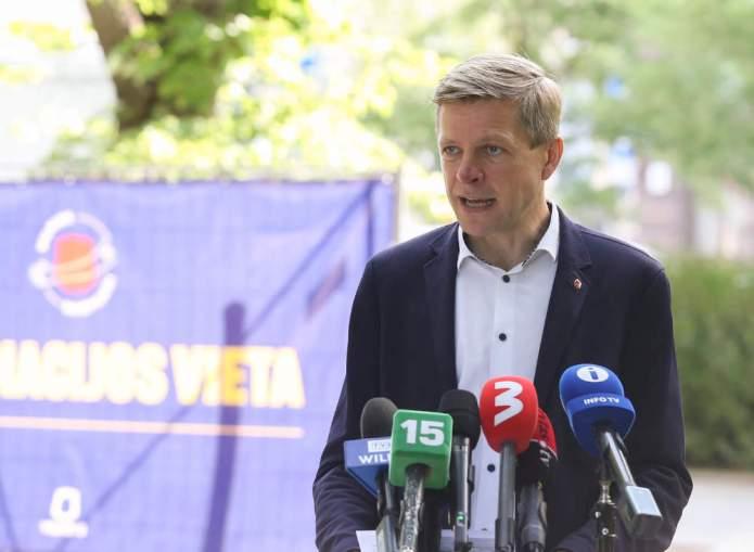 """Šimašius o szczepieniach: """"Litexpo zostanie zamknięte, będą inne placówki"""""""