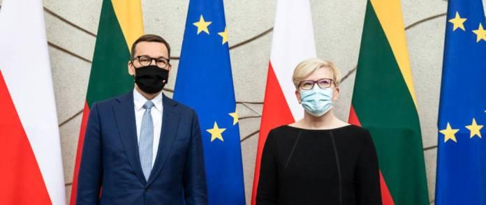 Oświadczenie Šimonytė i Morawieckiego. Wezwanie UE do sankcji wobec Białorusi