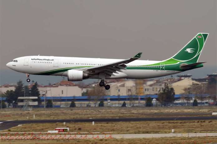 Samolot z Iraku do Mińska przyleciał pusty. Irak: Ma zabrać chcących wrócić