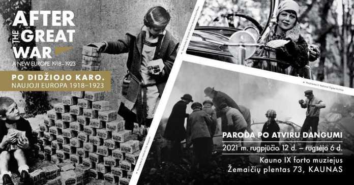 """Ponad 200 interaktywnych archiwów. Wystawa """"Po Wielkiej Wojnie. Nowa Europa 1918–1923"""""""