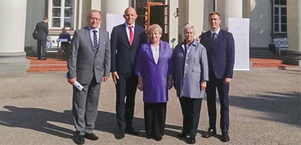 Kierownictwo Samorządu Rejonu Wileńskiego wzięło udział w dorocznym zjeździe samorządowców
