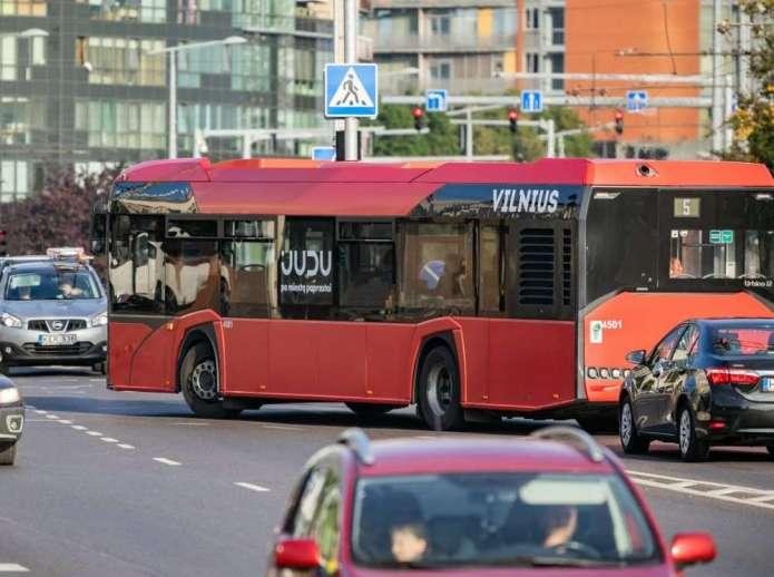 Pracownicy wileńskiego transportu protestują, mer posądzany o zamiary prywatyzacji
