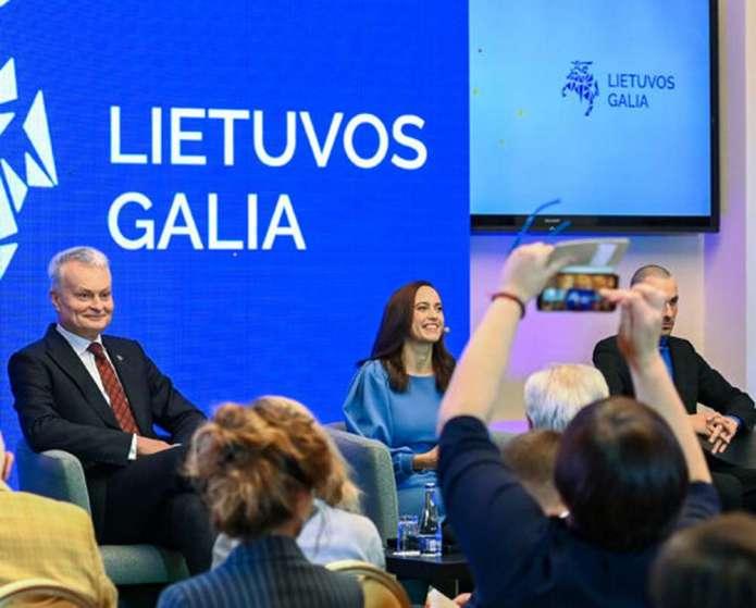 """Nausėda tworzy platformę inicjatyw — """"Moc Litwy"""""""