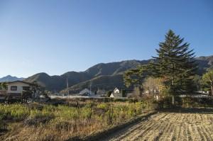 田舎の民家の写真