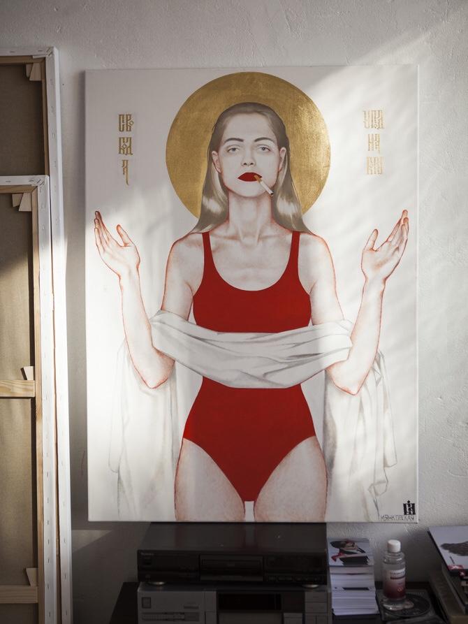 В Хабаровске открылась выставка художницы Маши Янковской 18+