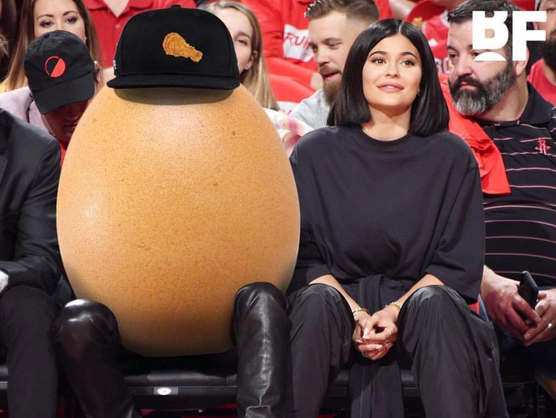 Фото яйца свело  с ума  интернет. Его автором оказался русскоязычный фотограф
