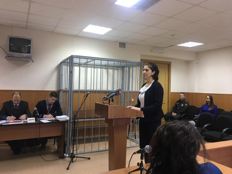 Ольга Мозговая сегодня продолжает давать показания в суде по делу экс-губернатора ЕАО
