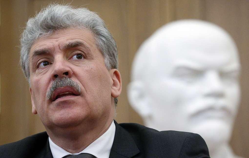 ЦИК не передал Павлу Грудинину депутатский мандат Госдумы умершего Жореса Алфёрова