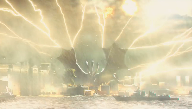 Посмотрите трейлер новой «Годзиллы». Там будут огромные монстры. Один из них — Кинг Гидора — вылитый Змей Горыныч