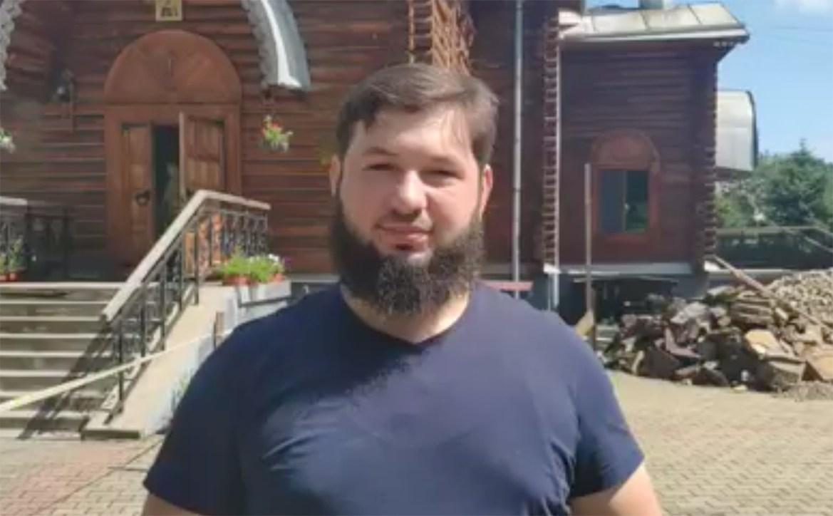 Иерей Георгий Борисов приглашает в подтопленный храм на молебен о прекращении дождя
