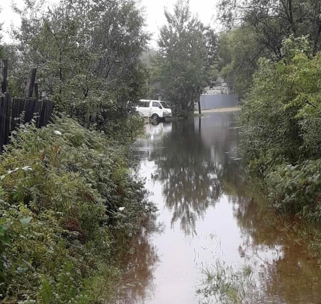 наводнение биробиджан 2019