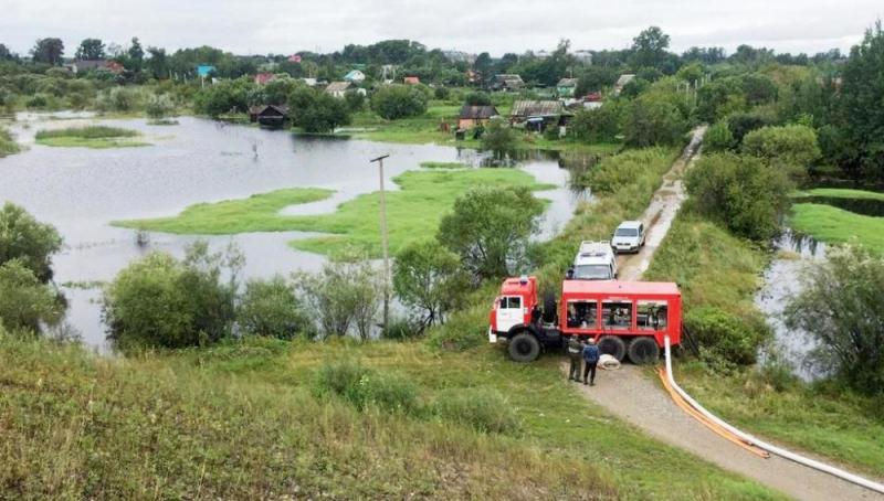 ЕАО наводнение 2019