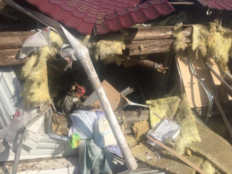 Помните в Волочаевке-2 в частном доме что-то взорвалось? МЧС рассказало, что взорвалось и почему